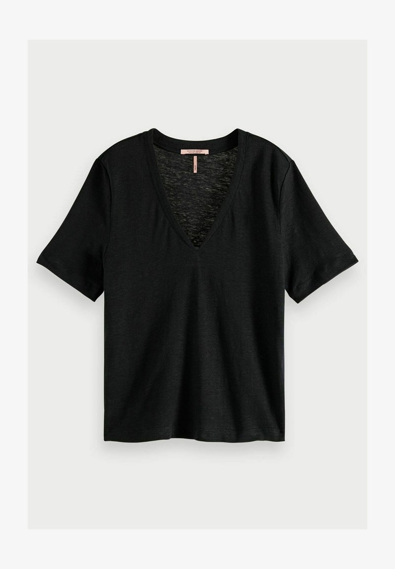 Scotch & Soda - T-shirt basic - black