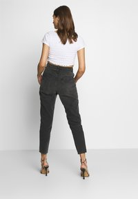 Gina Tricot - DAGNY HIGHWAIST - Relaxed fit jeans - black grey - 2