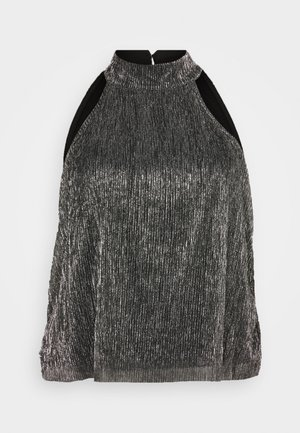 VMBIA SHORT TOP - Topper - silver