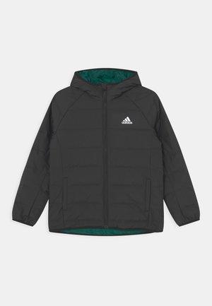 FROOSY UNISEX - Down jacket - black/white