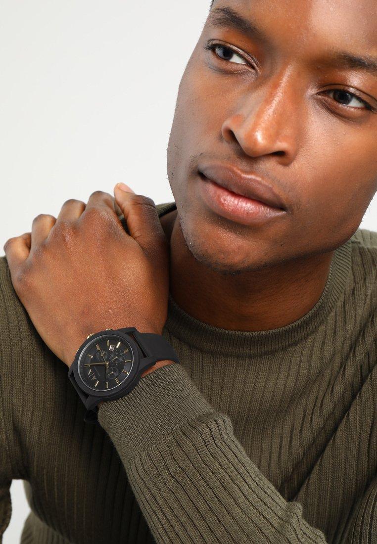 Armani Exchange - Chronograph watch - schwarz