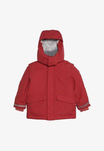 OSTRONET KIDS JACKET - Waterproof jacket - rasberry red