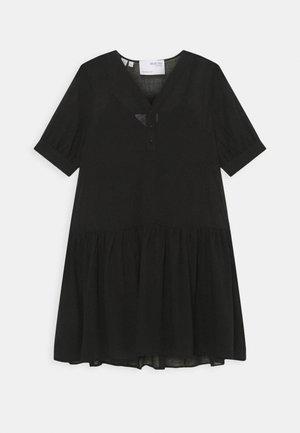SLFABIGAIL SHORT DRESS - Day dress - black