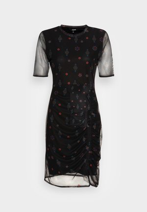 KIRA - Shift dress - black