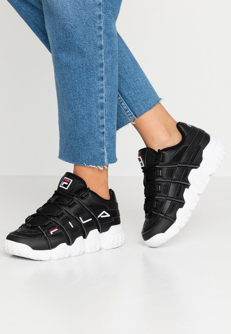 Fila - UPROOT - Tenisky - black/white/red