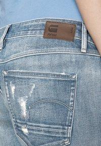 G-Star - KATE BOYFRIEND - Straight leg jeans - aqua destroyed - 5