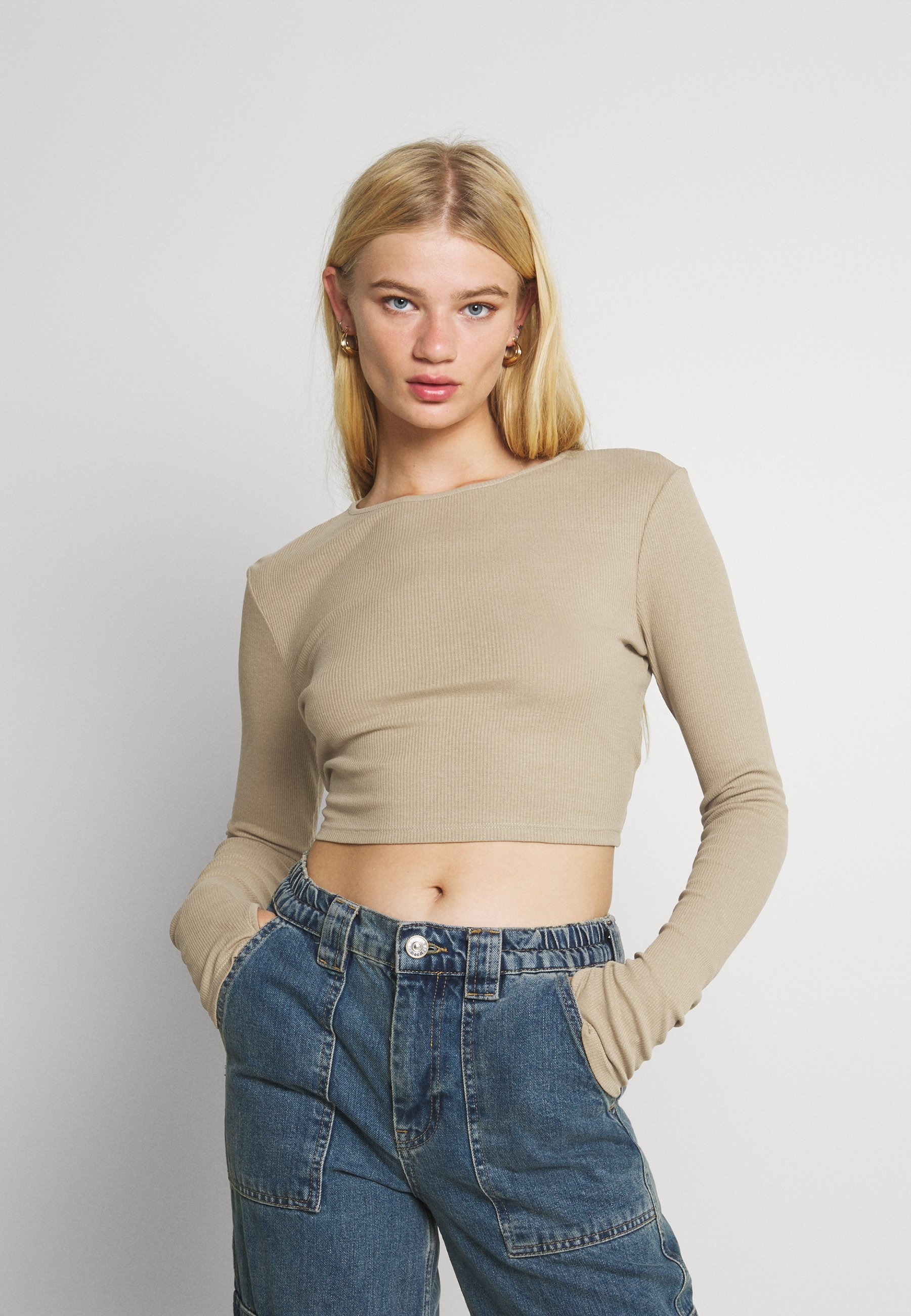 Donna CUTOUT TIE BACK - Maglietta a manica lunga