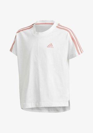 STRIPES T-SHIRT - Camiseta estampada - white