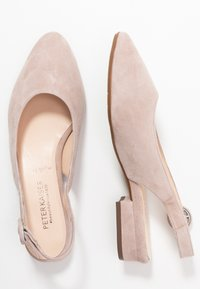 Peter Kaiser Wide Fit - WIDE FIT FASELLE - Ballerines - mauve - 3