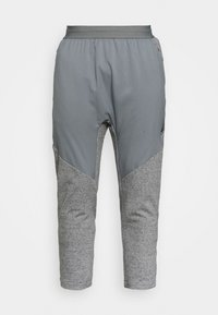PANT  - Tracksuit bottoms - dark grey heather/iron grey/smoke grey