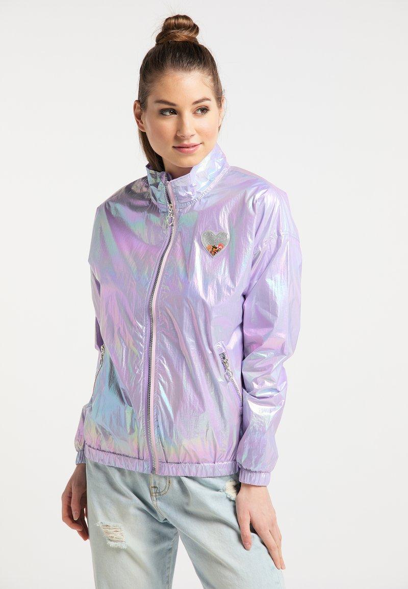 myMo - Regnjakke / vandafvisende jakker - lilac holographic