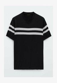 Massimo Dutti - Print T-shirt - blue - 3