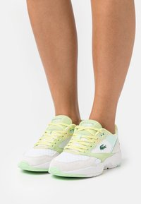 Lacoste - STORM  - Sneakers laag - white/light yellow - 0