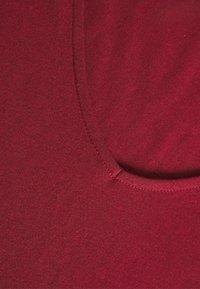 Anna Field - T-shirt basique - dark red - 2