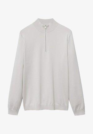 Sweatshirt - gris claro/pastel