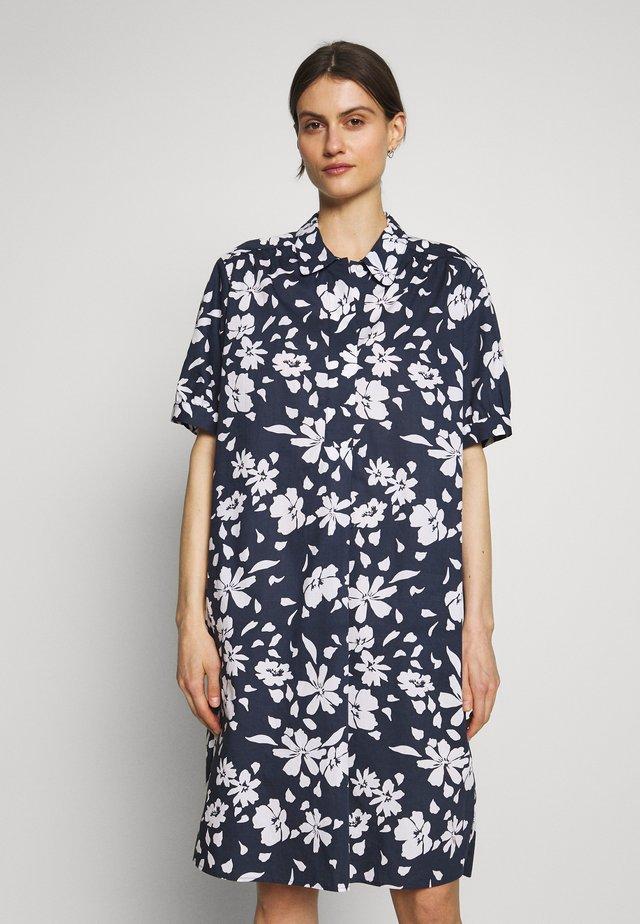 Skjortekjole - navy blazer