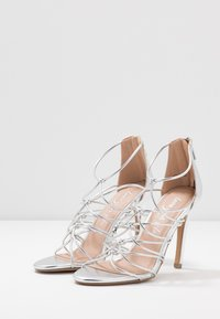 New Look - TOTTY - High heeled sandals - silver - 4