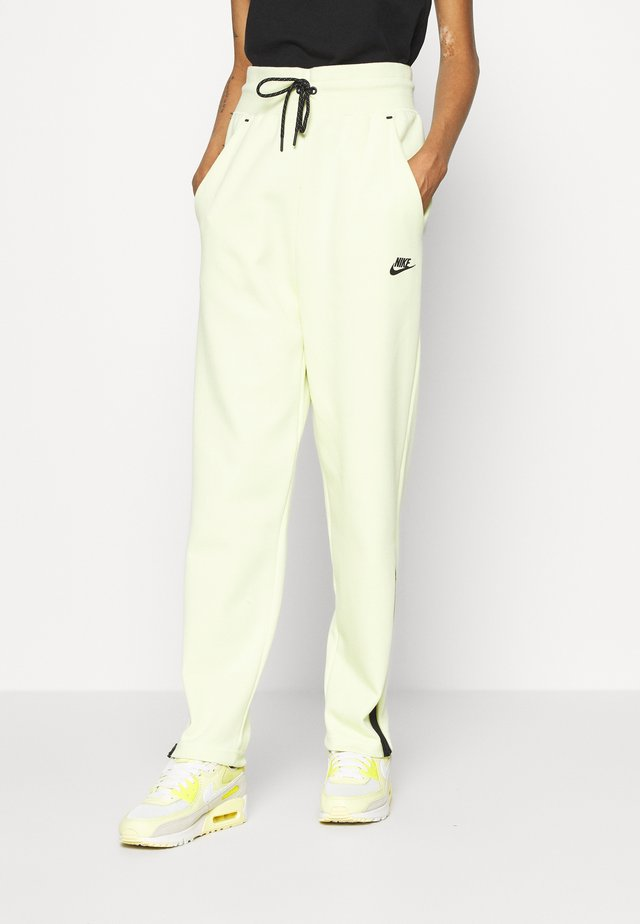 Tracksuit bottoms - life lime/black