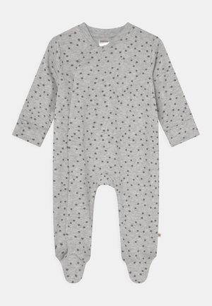 UNISEX - Sleep suit - mottled light grey