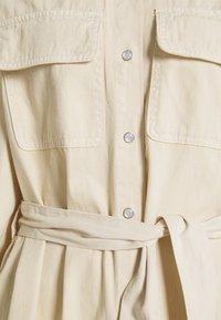 EDITED - LEILAN DRESS - Denim dress - beige - 2