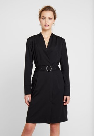 ZIA COAT DRESS - Etui-jurk - pitch black