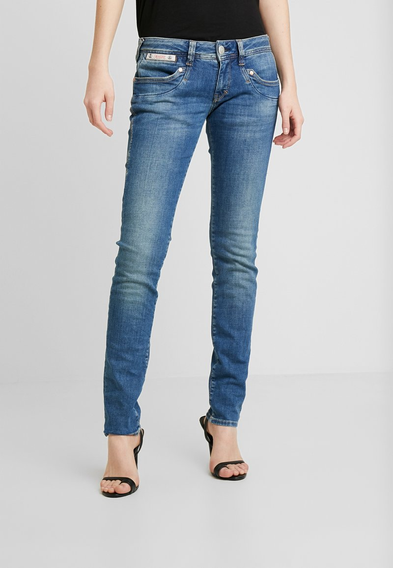 Herrlicher - PIPER SLIM STRETCH - Džíny Slim Fit - blue denim