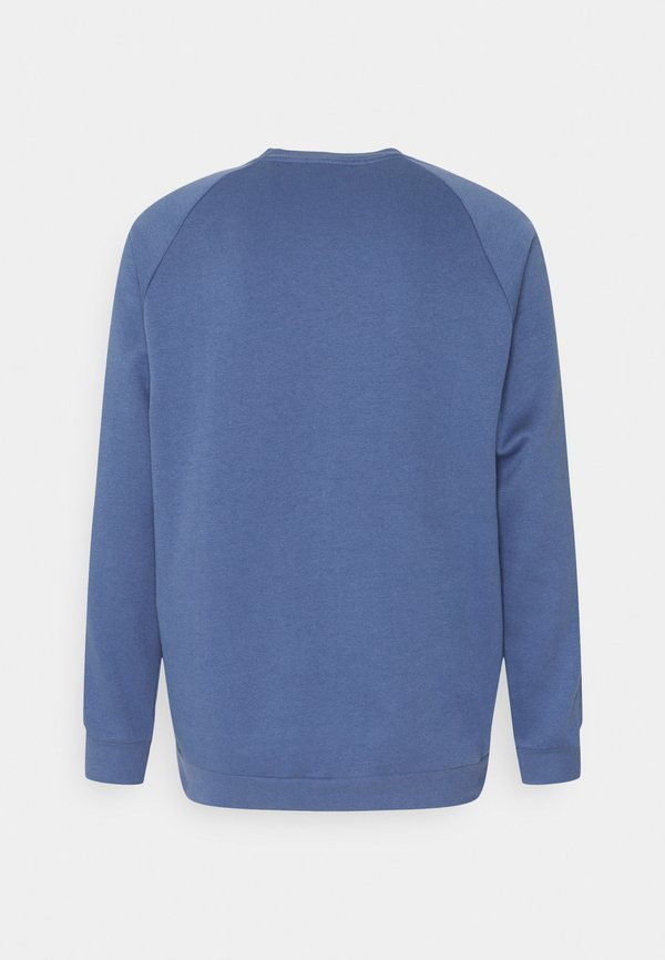 adidas Originals 3 STRIPES CREW UNISEX - Bluza - blue/niebieski Odzież Męska MTPO
