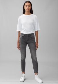 Marc O'Polo - THEDA - Relaxed fit jeans - grey effect wash - 1