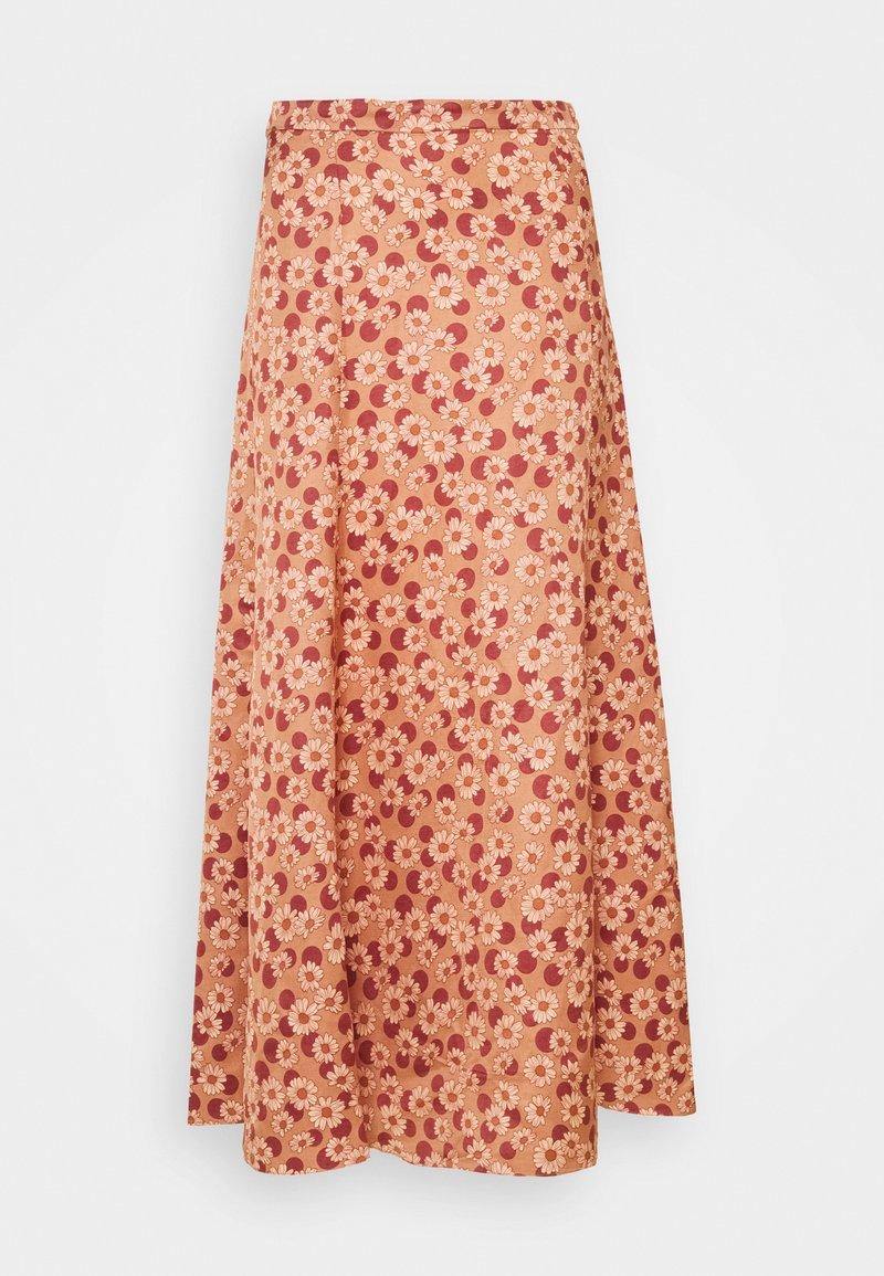 sandro - Maxi skirt - marron