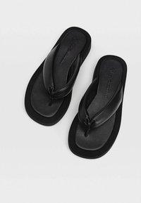 Stradivarius - Sandals - black - 3