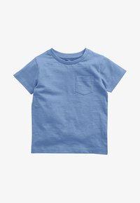 Next - SHORT SLEEVE - T-shirt basic - blue - 0