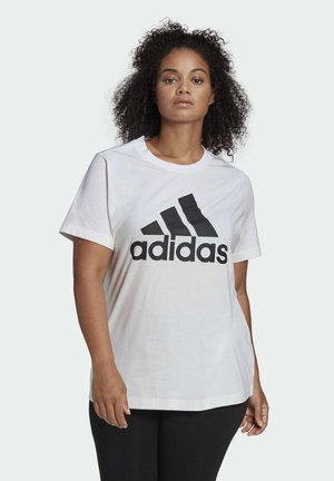 MUST HAVES BADGE OF SPORT T-SHIRT (PLUS SIZE) - T-shirts med print - white