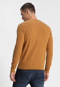 Pier One - Jumper - mottled dark yellow - 2