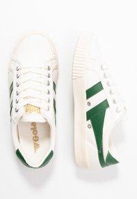 Gola - TENNIS MARK COX - Sneakersy niskie - offwhite/dark green - 3