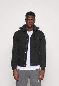 Denim Project - JACKET - Giacca di jeans - black - 0