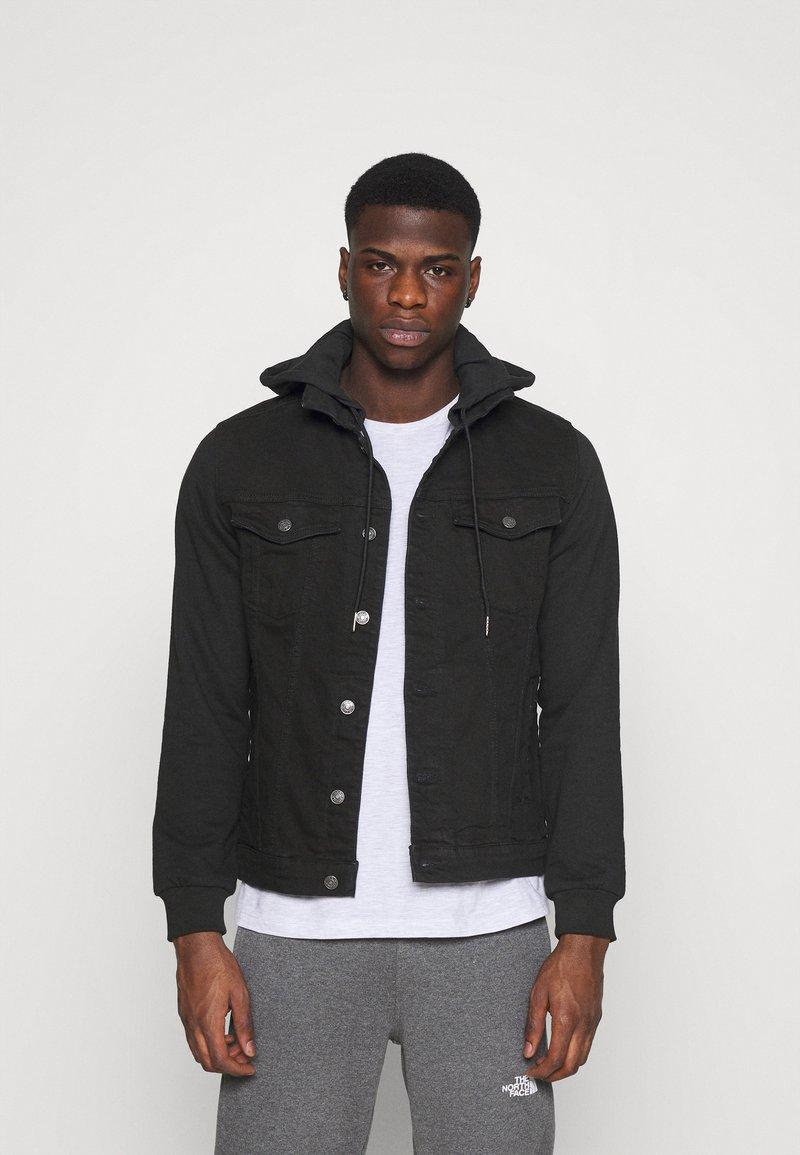 Denim Project - JACKET - Giacca di jeans - black