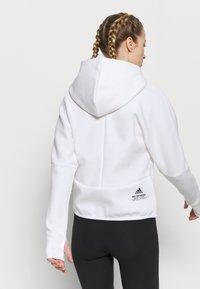 adidas Performance - ZNE - Sweatjakke - white - 2