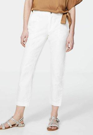Trousers - blanc cassé