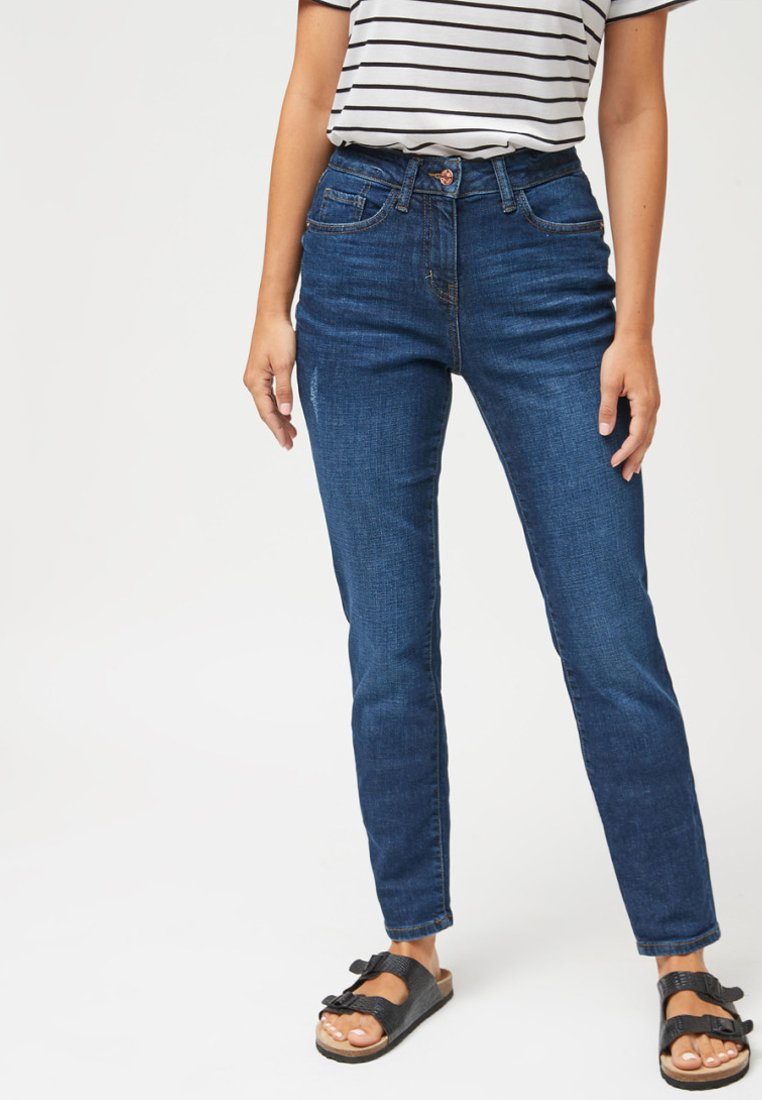 Next - RELAXED SKINNY JEANS - Slim fit jeans - blue