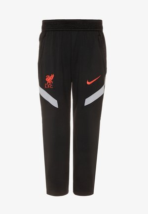 FC LIVERPOOL DRY STRIKE PANT - Club wear - black/wolf grey/laser crimson
