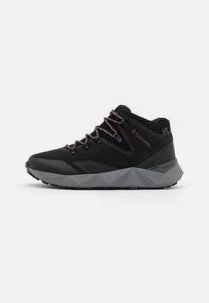FACET 60 OUTDRY - Obuwie hikingowe - black/red