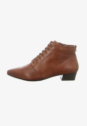 NOVA 26 - Lace-up ankle boots - cognac