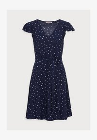 Anna Field - WOVEN VOLANT DRESS - Kjole - blue - 4