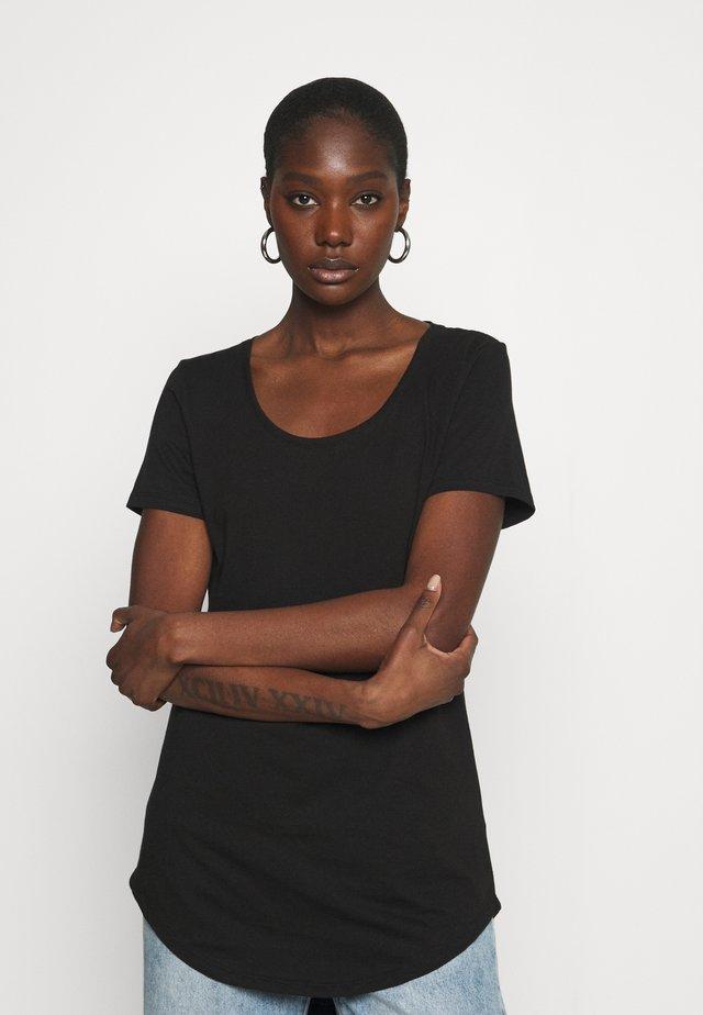 TALL TEE - T-shirts basic - black