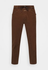 X-LENT TAPERED - Pantalon classique - chocolate brown
