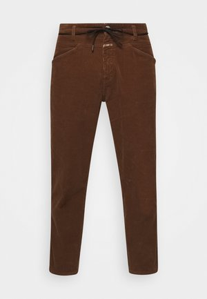 X-LENT TAPERED - Bukser - chocolate brown