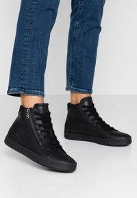 Geox - BLOMIEE - Sneakers high - black - 0