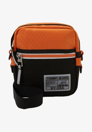 COLLEGE REPORTER - Across body bag - orange