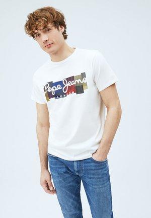 CASST - Print T-shirt - off-white