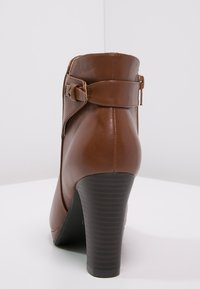 Anna Field - High heeled ankle boots - cognac - 3